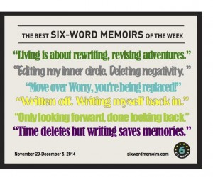 six word memoirs image